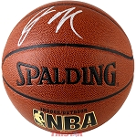 Jahlil Okafor Autographed Spalding Indoor/Outdoor NBA Basketball