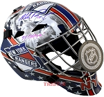 Mike Richter Autographed NY Rangers Goalie Mask Inscribed 94 Cup Champs