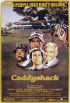 Chevy Chase Autographed Caddyshack Movie Poster