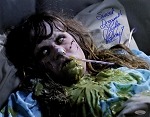 Linda Blair Autograhed Exorcist Demon Vomit 11x14 Photo Inscribed Sweet Dreams