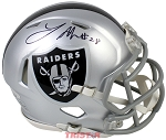Latavius Murray Autographed Oakland Raiders Mini Helmet