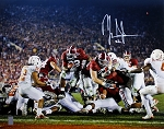 Mark Ingram Autographed Alabama Crimson Tide Jumping 16x20 Photo