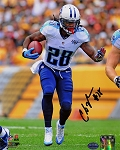 Chris Johnson Autographed Tennessee Titans 8x10 Photo