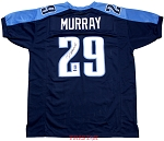 DeMarco Murray Autographed Tennessee Titans Custom Jersey