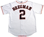 Alex Bregman Autographed Houston Astros White Replica Jersey