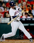 Alex Bregman Autographed Houston Astros Swinging 16x20 Photo