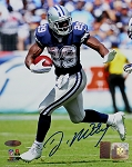 DeMarco Murray Autographed Dallas Cowboys Stiff Arm 8x10 Photo