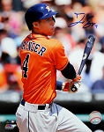 George Springer Autographed Houston Astros 8x10 Photo