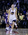 Klay Thompson Autographed Golden State Warriors 16x20 Photo