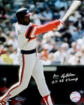 Ron LeFlore Autographed Chicago White Sox 8x10 Photo