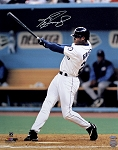 Ken Griffey Jr. Autographed Seattle Mariners Batting 16x20 Photo