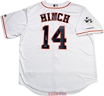 A.J. Hinch Autographed Houston Astros Replica Jersey with WS Champs Patch