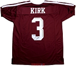 Christian Kirk Autographed Texas A&M Aggies Custom Jersey