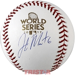 Jake Marisnick Autographed 2017 World Series Baseball