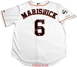 Jake Marisnick Autographed Houston Astros Replica Jersey with WS Champs Patch