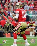 Jimmy Garoppolo Autographed San Francisco 49ers 8x10 Photo