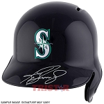 Ken Griffey Jr. Autographed Seattle Mariners Full-Size Batting Helmet
