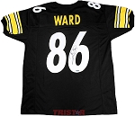 Hines Ward Autographed Pittsburgh Steelers Custom Jersey