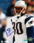 Je'Rod Cherry Autographed New England Patriots 8x10 Photo