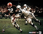 Jim Brown Autographed Cleveland Browns 16x20 Photo
