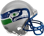 Seattle Seahawks Throwback Mini Helmet