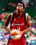 Wanda Guyton Autographed Houston Comets 8x10 Photo