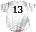 Alex Rodriguez Autographed New York Yankees Pinstripe Replica Jersey