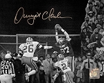 Dwight Clark autographed San Francisco 49ers 'The Catch' 8x10 Photo