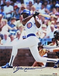 Andre Dawson Autographed Chicago Cubs 8x10 Photo