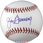 Jim Bunning Autographed Official ML Baseball