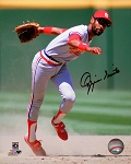 Ozzie Smith Autographed St. Louis Cardinals 11x14 Photo