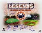 Houston Astros Legends Autographed Commemorative 16x20 Photo - 16 Signatures