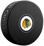Chicago Blackhawks Logo Puck