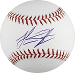 Jon Singleton Autographed Official ML Baseball