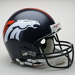 Denver Broncos Authentic Proline Full Size Helmet