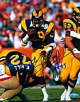 Eric Dickerson Autographed Rams 8x10 Photo (Free Inscription)