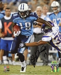 James Kirkendoll Autographed Tennessee Titans 8x10 Photo