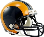 Los Angeles Rams Throwback Mini Helmet