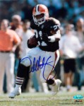 Eric Metcalf Autographed Cleveland Browns 8x10 Photo