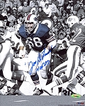 Joe DeLamielleure Autographed Buffalo Bills 8x10 Photo Inscribed HOF 03