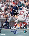 Ron Yary Autographed Minnesota Vikings 8x10 Photo Inscribed HOF 01