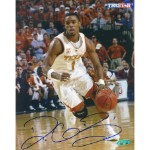 Daniel Gibson Autographed University of Texas 8x10 Photo