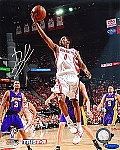 Aaron Brooks Autographed Houston Rockets 8x10 Photo