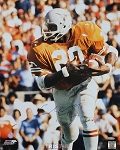 Earl Campbell Autographed UT Longhorns 16x20 Photo Inscribed HT 77