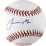 Jiovanni Mier Autographed Official ML Baseball