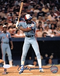 Andre Dawson Autographed Montreal Expos 16x20 Photo