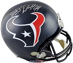 JJ Watt Autographed Houston Texans Full Size Replica Helmet