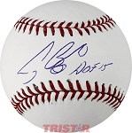 Craig Biggio Autographed Official ML Baseball Inscribed HOF 15
