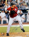 Craig Biggio Autographed Houston Astros 16x20 Photo Inscribed HOF 15