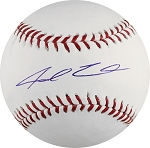 Jarred Cosart Autographed Official ML Baseball